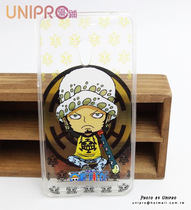 【UNIPRO】華碩 ZenFone6 航海王 One Piece 羅 醫生 TPU 手機殼 保護套 海賊王 LAW 正版授權