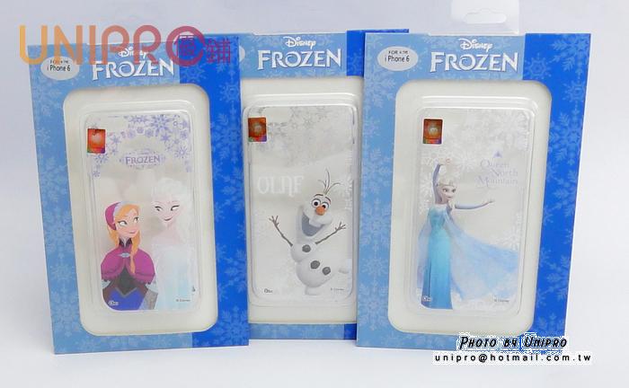 【UNIPRO】iPhone 6 4.7吋 冰雪奇緣 FROZEN TPU手機殼 雪寶 ELSA 安娜 i6 保護套
