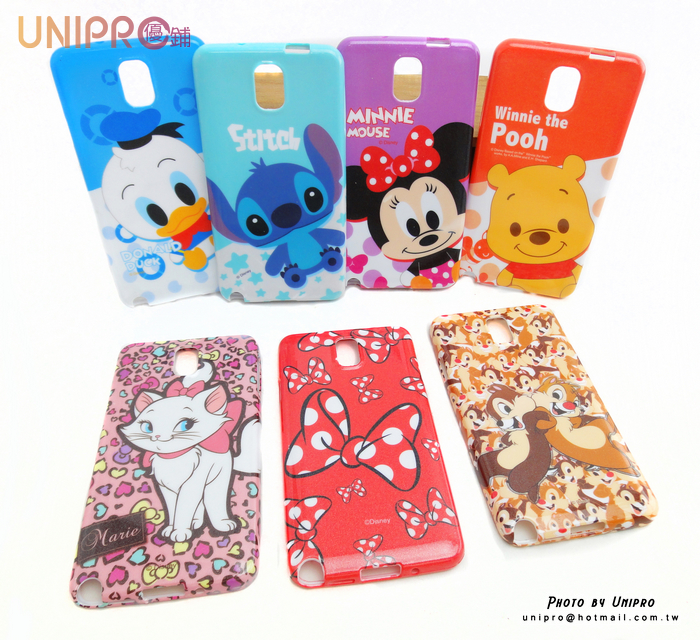 【UNIPRO】Samsung NOTE3 N900 迪士尼 小熊維尼 史迪奇 瑪麗貓 唐老鴨 奇奇蒂蒂 米奇 米妮 TPU 手機殼