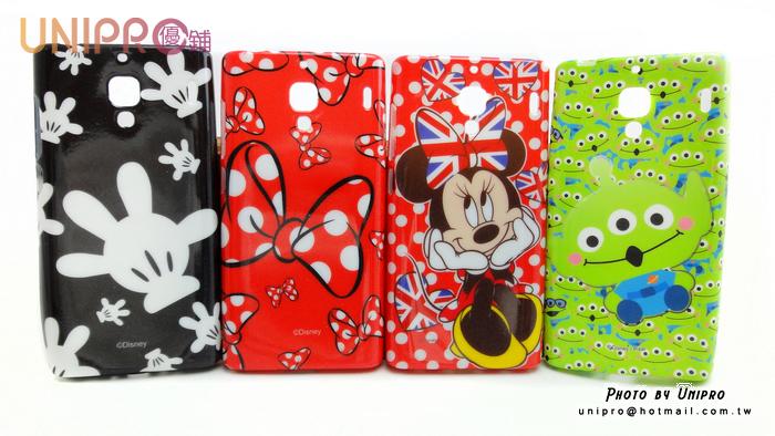 【UNIPRO】小米 紅米 迪士尼 米妮蝴蝶結 手機殼 保護套 軟殼
