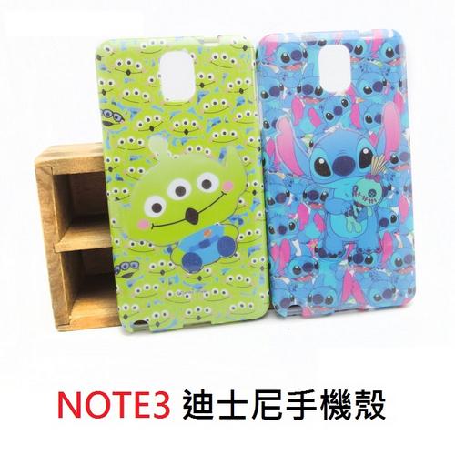 【UNIPRO】迪士尼 Samsung Galaxy NOTE3 N900 史迪奇 三眼怪 手機殼 保護套 TPU 軟殼