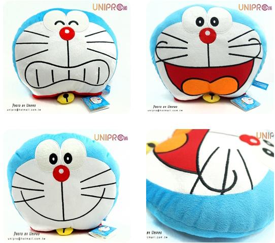 【UNIPRO】哆啦A夢 Doraemon 小叮噹 頭型 臉型 午安枕 小抱枕 三款表情