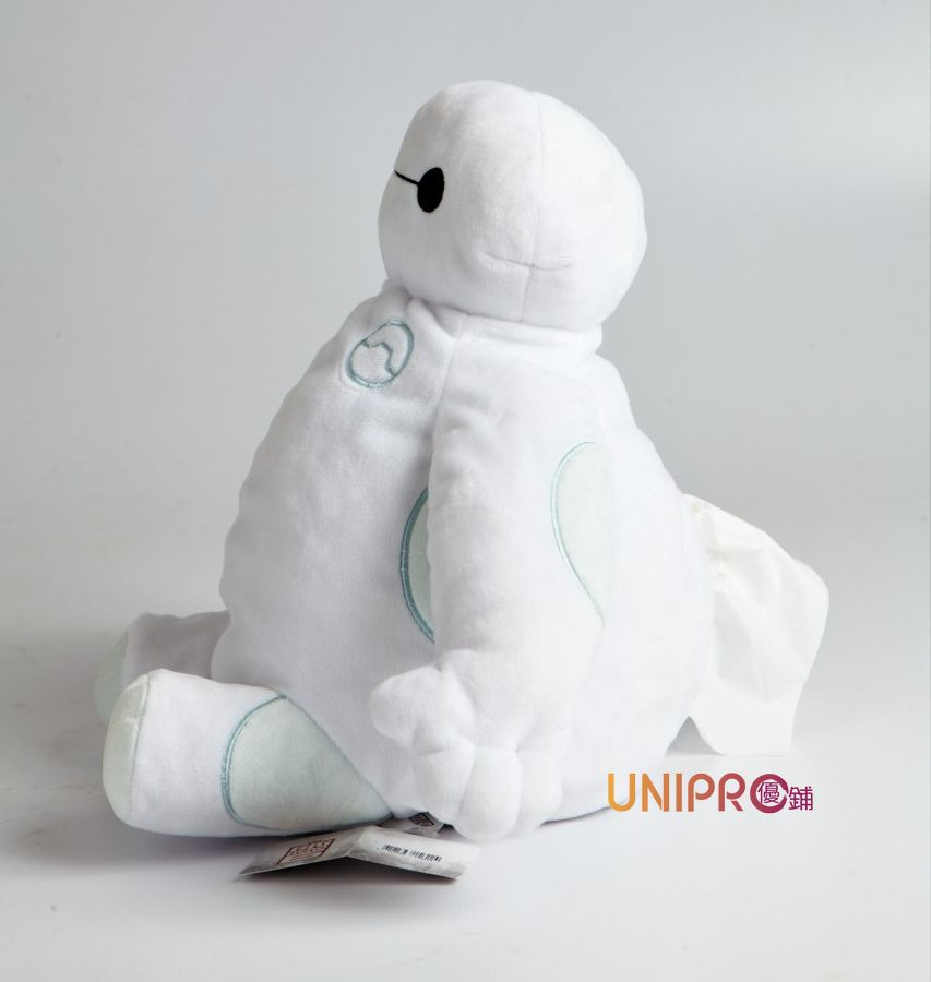 【UNIPRO】大英雄天團Big Hero 6 坐姿杯麵 造型面紙套 絨毛玩偶 baymax 迪士尼正版授權