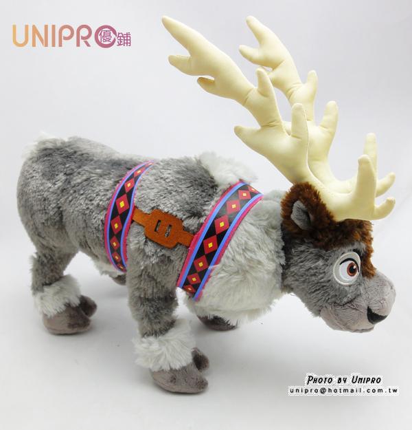 【UNPRO】迪士尼 冰雪奇緣 FROZEN 馴鹿 SVEN 站立 絨毛玩偶 娃娃 麋鹿 40cm