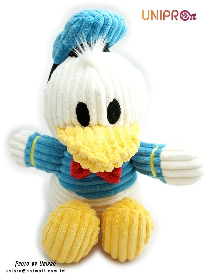 【UNIPRO】迪士尼 洋芋片 唐老鴨 波浪造型 絨毛玩偶 娃娃
