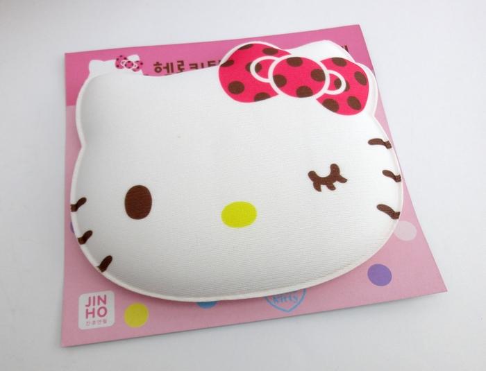【UNIPRO】 Hello Kitty 瞇眼大臉凱蒂貓 滑鼠手腕防護墊 護腕墊 韓國限定