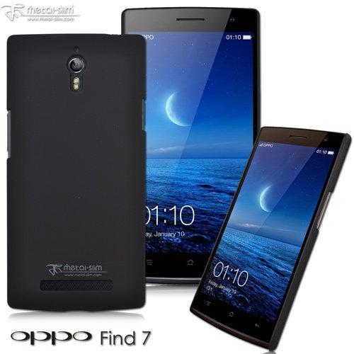 【UNIPRO】Metal-Slim OPPO Find 7 皮革漆系列 新型保護殼 手機殼 加高設計