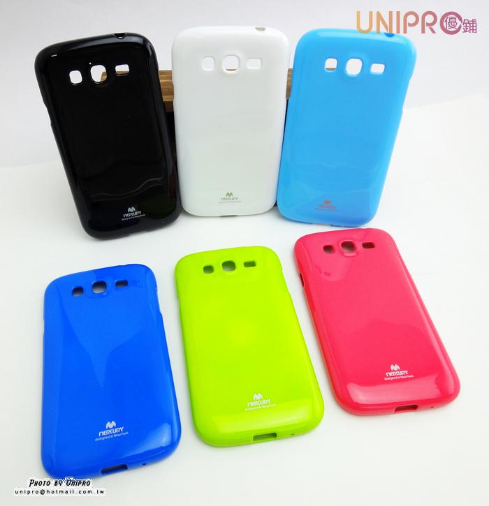 【UNIPRO】MERCURY Samsung Galaxy Grand Duos i9082 糖果色TPU亮粉 矽膠軟殼 手機殼 保護套