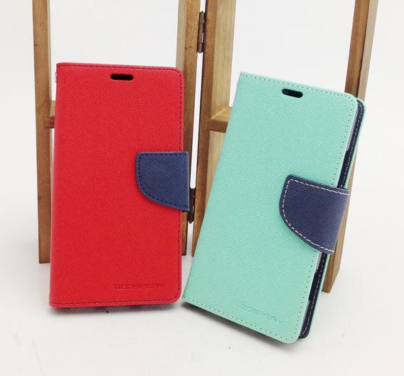 UNIPRO Mercury SONY Xperia SP M35h C5302 十字紋 雙色  書本式 手機皮套 保護套  TPU軟內裡