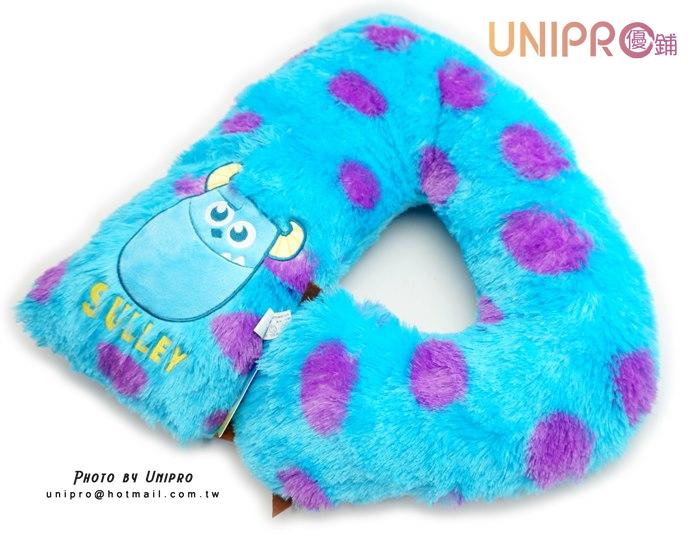 【UNIPRO】迪士尼 怪獸電力公司 毛怪手臂抱枕 絨毛娃娃 男友抱枕 玩偶 抱枕 約50cm 正版