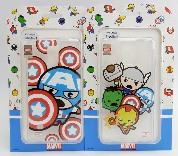 UNIPRO 三星 Note4 N910 復仇者 Marvel 美國隊長 蜘蛛人 鋼鐵人 手機殼 保護套 N4