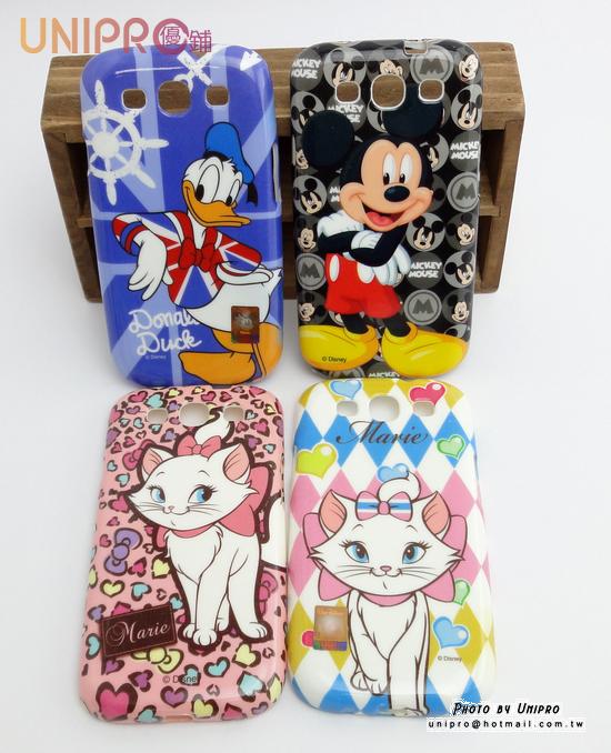 UNIPRO Samsung S3 i9300 迪士尼 米奇 唐老鴨 瑪麗貓 手機殼 軟殼 保護套
