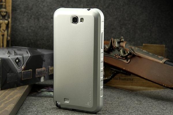 UNIPRO【N250】NOTE2 N7100 N7102 邊框+背蓋 一體成形 免螺絲 抽拉金屬邊框 鋁合金 磨砂手機殼