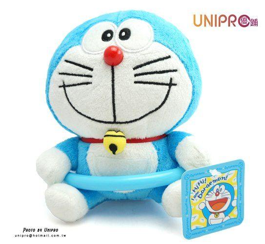 【UNIPRO】哆啦A夢 小叮噹 吊飾 掛環 吊毛巾 絨毛玩偶 娃娃