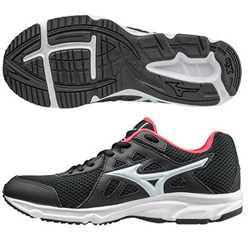 K1GA170402(黑X白)一般型鞋款 MIZUNO SPARK 女慢跑鞋 S【美津濃MIZUNO】