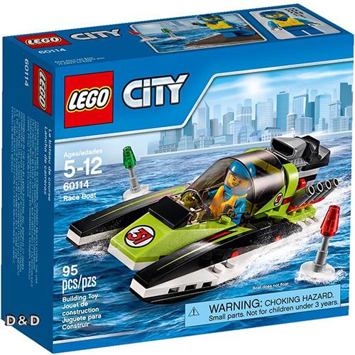 樂高積木LEGO《 LT60114 》2016 年 CITY 城市系列 - 賽艇