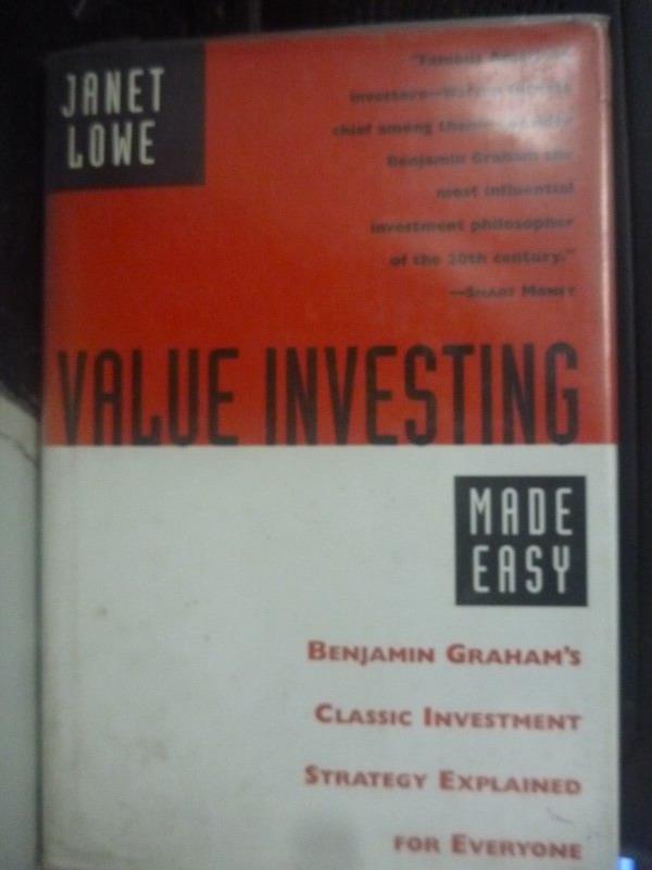 【書寶二手書T1/投資_QJM】Value Investing Made Easy_Janet Lowe