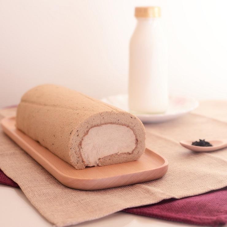 【烘焙饗宴】冰心生乳捲---乳香蜜茶 (約420g)