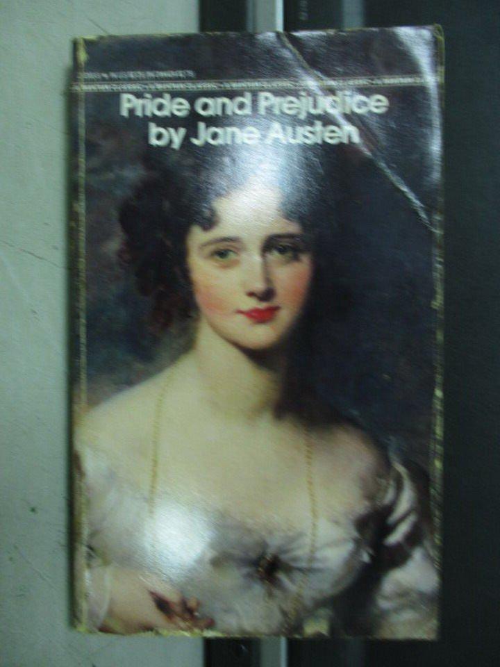 【書寶二手書T7/原文小說_LPB】Pride and prejudice_Jane austen
