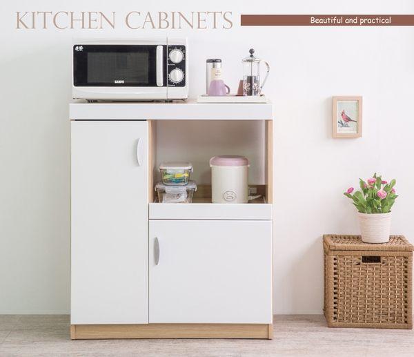 廚房櫃 收納櫃【N0038】鏡面配色雙門廚房櫃 MIT台灣製 完美主義