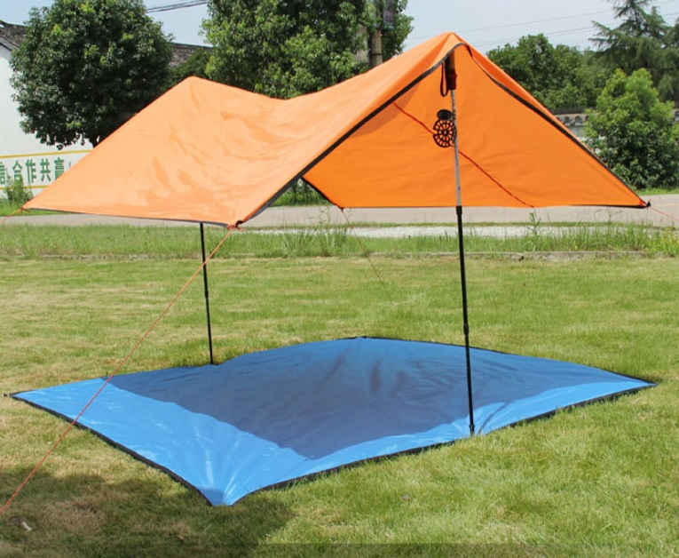 【露營趣】中和 TNR-208 200x200 防水地布 地墊 小天幕 3~4人帳篷 三人帳 四人帳 非犀牛927