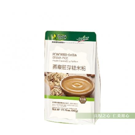 健康時代  燕麥胚芽糙米粉(600g/袋)_無加糖