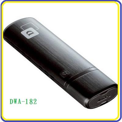 2016.11新品 限時優惠!D-Link DWA-182 Wireless AC1200雙頻USB無線網卡