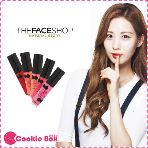 韓國 THE FACE SHOP 菲斯小舖 幸運之吻漾 唇蜜 少女時代 4.5g *餅乾盒子*