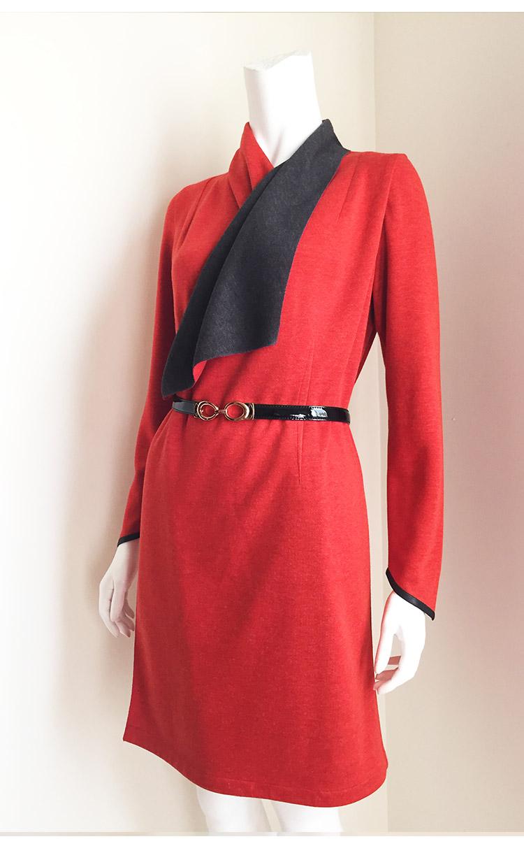 林廷芬服裝設計-Beth Jacket-(有袖)雙色百變罩衫
