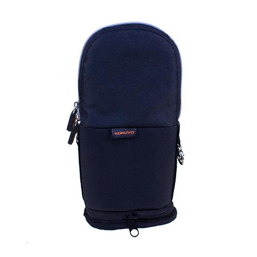 【KOKUYO】  critz多功能直立式筆袋-大(黑色) PC009-D