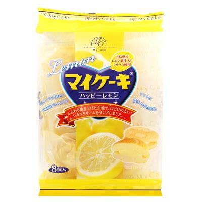 柿原MyCake檸檬夾心蛋糕8個入  (132g)