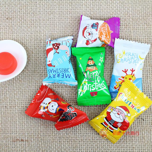 【0216零食會社】聖誕Q軟糖