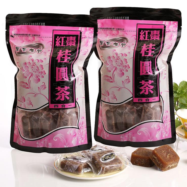 【黑金傳奇】黑糖紅棗桂圓茶(大顆,455g)