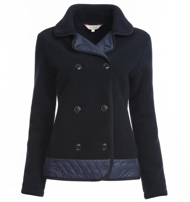 【鄉野情戶外用品店】 AIGLE |法國| P/T 刷毛保暖外套 女款/刷毛外套/AG-6F221