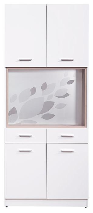 【尚品傢俱】HY-A351-01 克萊兒白色2.7尺玄關屏風雙面鞋櫃