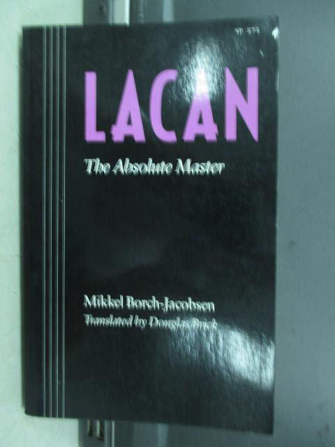 【書寶二手書T2/原文小說_JBL】The absolute master_Mikkel borch jacobsen