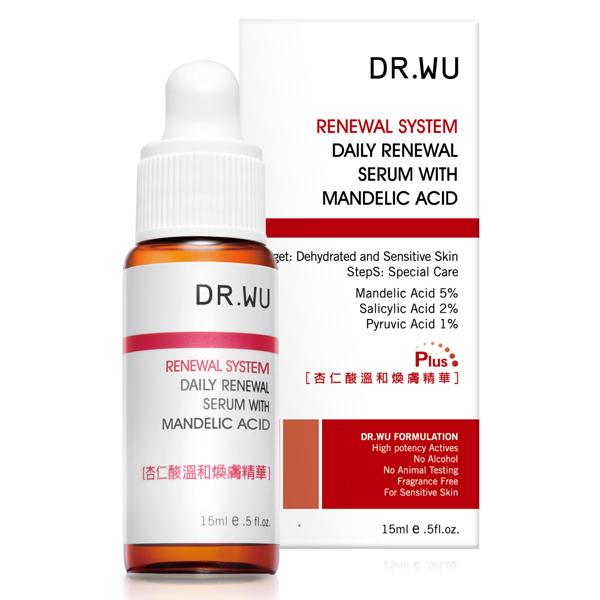 DR.WU杏仁酸溫和煥膚精華 15ML《康是美》
