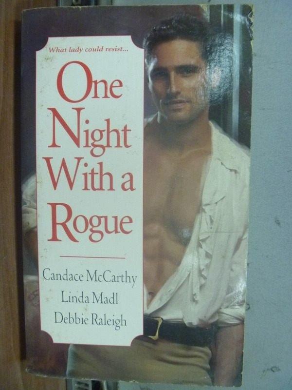 【書寶二手書T6/原文小說_ISE】One night with a rogue_Candace McCarthy