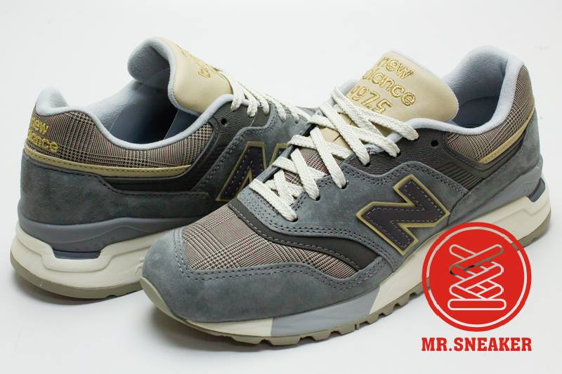 ☆Mr.Sneaker☆ NEW BALANCE 997.5 Glen Check格紋 REVlite 麻灰 女款