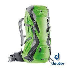 德國 deuter ACT Lite拔熱式透氣背包 50+10L 『綠/灰』 3340315