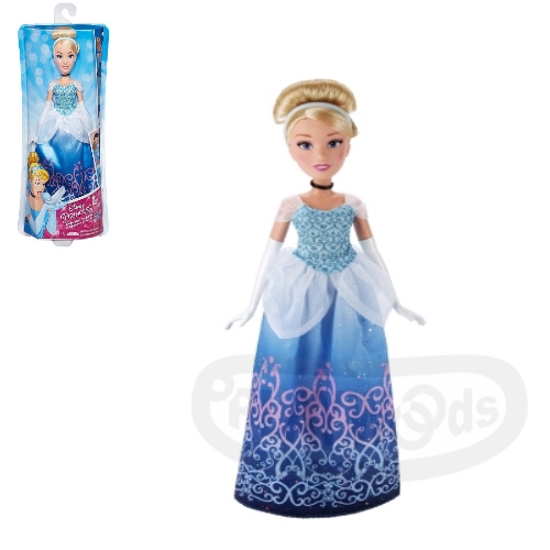 【Playwoods】[迪士尼公主Disney]經典角色組:灰姑娘 仙杜瑞拉Cinderella (DISNEY/Tangled/孩之寶/娃娃Doll/玻璃鞋/童話/故事/扮家家酒)