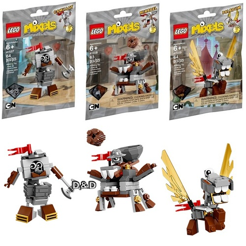 樂高積木LEGO《 LT41557/41558/41559 》Mixel 系列 - 灰色三包組
