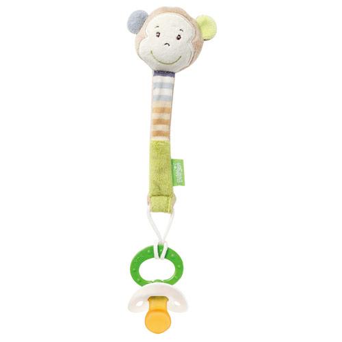 babyFEHN 芬恩 - 叢林夥伴小猴布偶奶嘴鍊