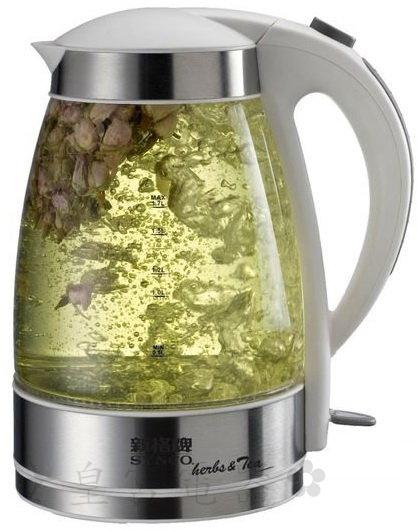 免運✈皇宮電器✿ 新格 1.7L 花茶玻璃電茶壺 SEK-1706ST 英國STRIX溫控開關.煮沸後自動斷電,空燒自動斷電 很好用喔~~