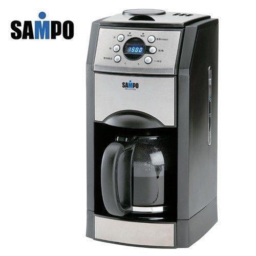 ✈皇宮電器✿ 聲寶自動研磨咖啡機 HM-L8101GL 99年新機上市 電視購物熱銷款 可研磨咖啡豆並自動濾煮