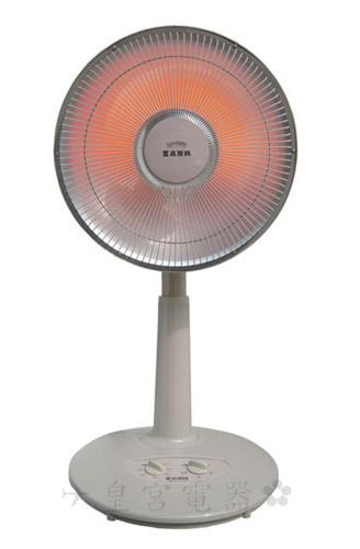 ✈皇宮電器✿ 嘉麗寶 14吋 碳素電暖器 SN-9314T-2T ~14 吋超大反射罩,熱效面積大
