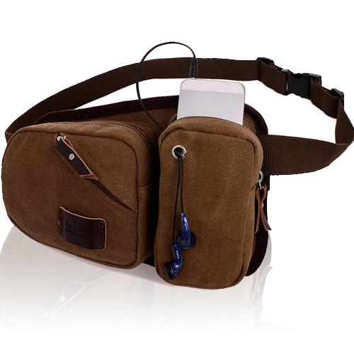 斜背包 韓版型男復古運動胸包 運動腰包 包飾衣院 J1008 現貨+預購