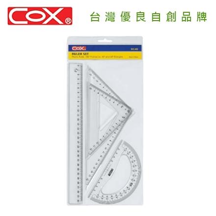 COX 三燕 NO.460 30CM三角板尺組 / 組