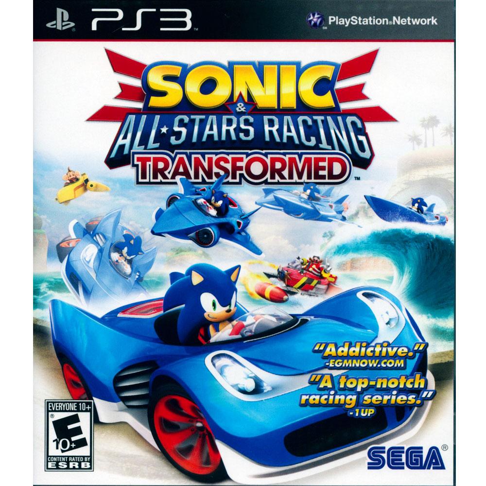PS3 音速小子 & SEGA 超級巨星大賽車 變形 英文美版 SONIC ALL STARS
