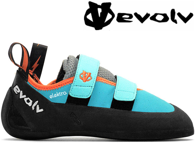Evolv Elektra 攀岩鞋/抱石 女款 水藍色